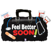 "28"" Dr. Bag Feel Better Foil Shape"