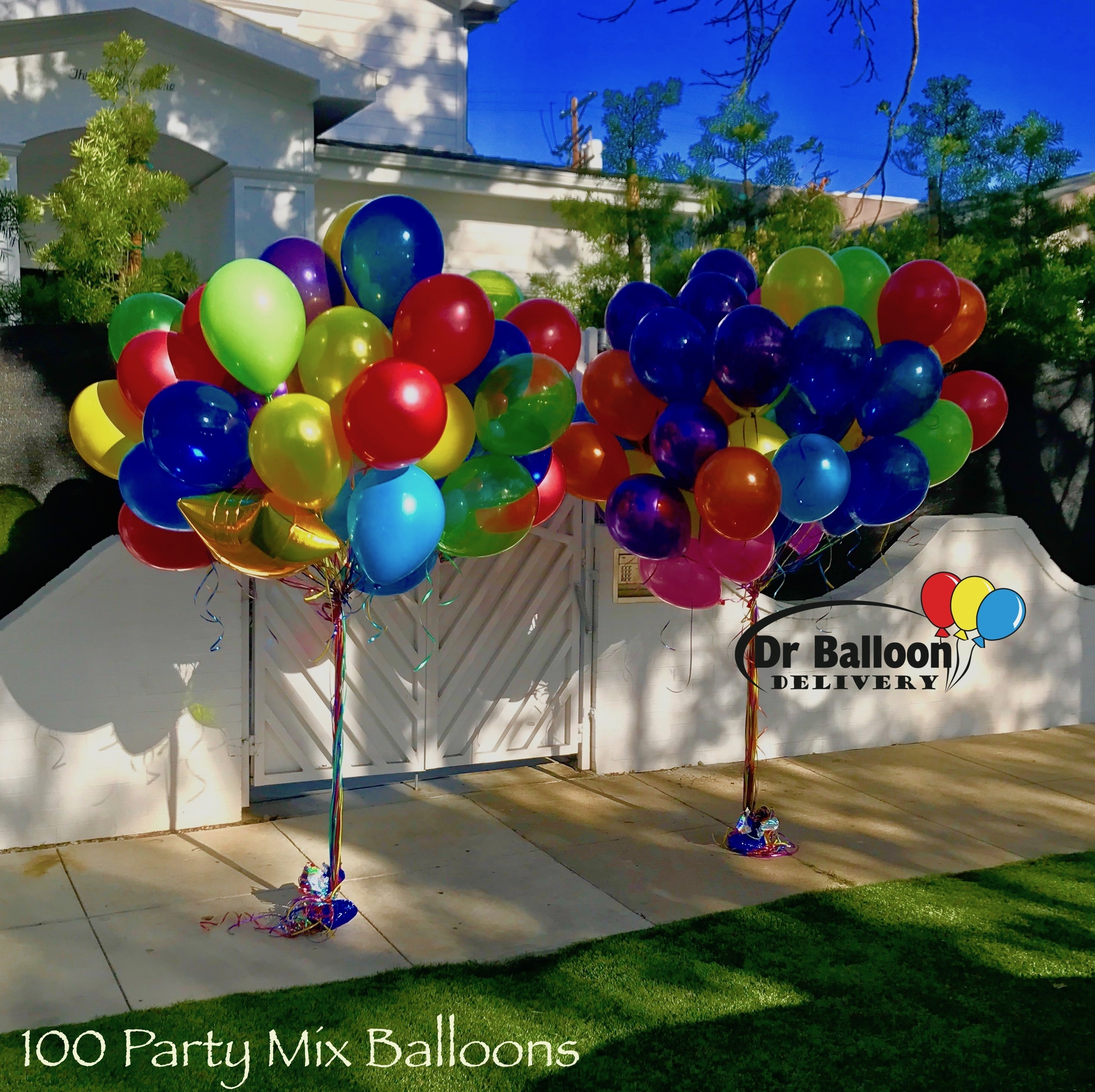 Beverly hills balloon delivery by dr balloon delivery los for Balloon decoration los angeles