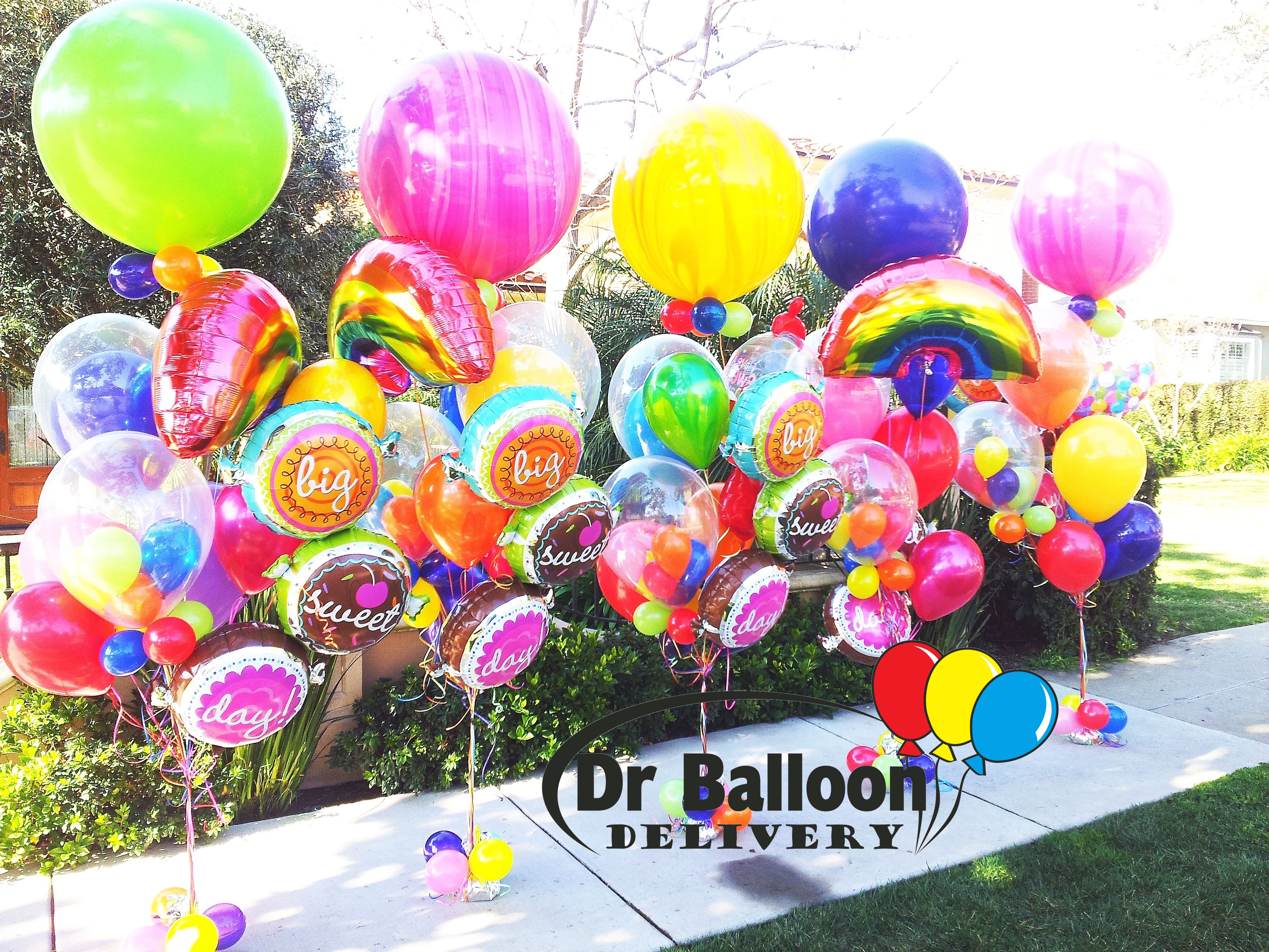 1 balloon delivery la 310 215 0700 los angeles bouquets for Balloon decoration los angeles