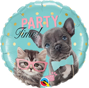 Birthday Studio Pets Party Time Balloon