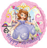 Birthday Sofia the First Balloon